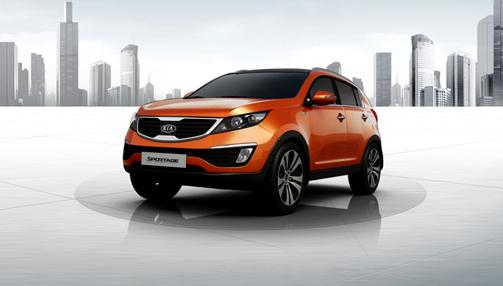 기아자동차 'New Sportage' 2nd Global Brand Website