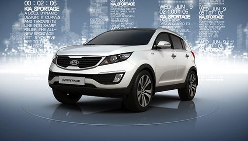 기아자동차 'New Sportage' Global Brand Website